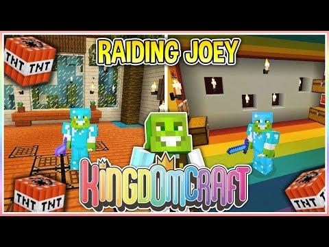 Raiding Joey's Base!! | KingdomCraft Ep.18