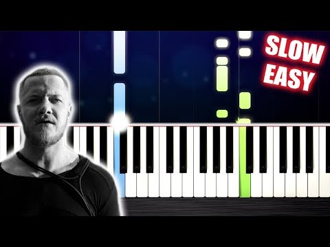 Imagine Dragons - Thunder - SLOW EASY Piano Tutorial by PlutaX