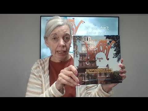 Little Miss HISTORY Travels to INDEPENDENCE HALL & The Museum of the American Revolution Book Trailer