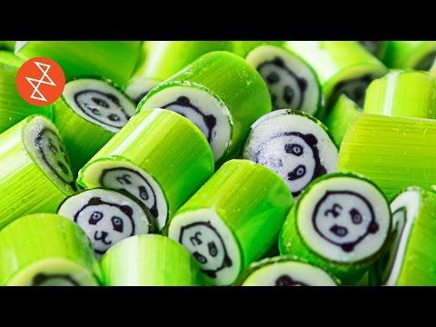 El Yapımı Panda Desenli Şeker