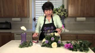 Lavender & White Wedding Floral Arrangements : Floral Arrangements For Weddings & Centerpieces