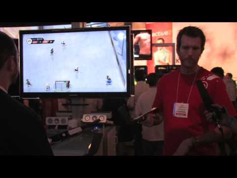 E3 2010: EA Slap Shot Wii