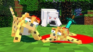 Zombie Vs Ocelot Life Minecraft Animation