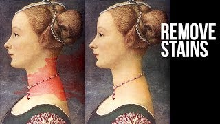 Remove Stains in Photoshop Using Multiple Hue & Saturation Adjustment Layers