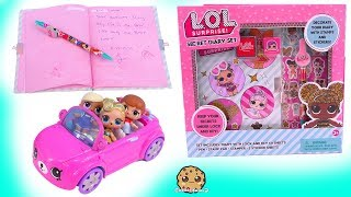 Reading A Locked Secret Diary ! LOL Surprise Dolls + Blind Bag Ball - Video