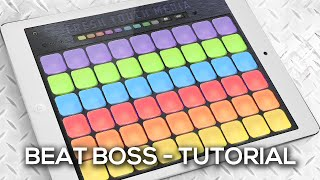 Beat Boss Tutorial - EDM (electronic dance music) sampler app for ios and android