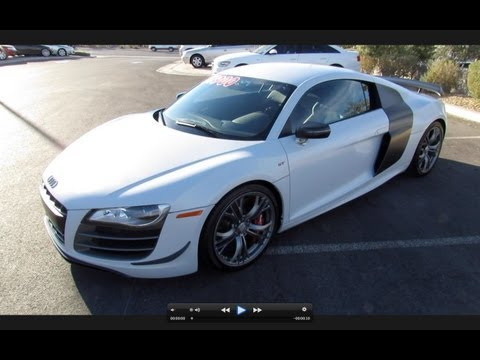 2012 Audi R8 GT 5.2 FSI Quattro In-Depth Review