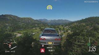 Forza Horizon 4 - Exploring Map in Rocket Bunny 1993 Nissan Skyline GT-R R32 (Summer Season)
