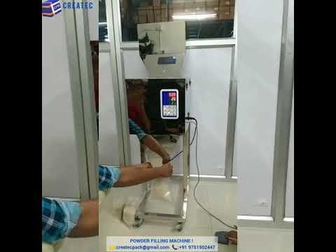 Weighing filler Machine