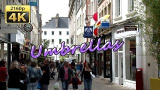 preview picture of video 'Parapluies Le Veritable Cherbourg, Normandy - France 4K Travel Channel'