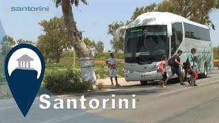 Santorini | Taking the Bus