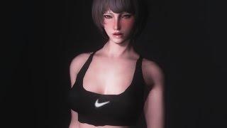 lovehappy.net - nike sports wear clothes skyrim mod