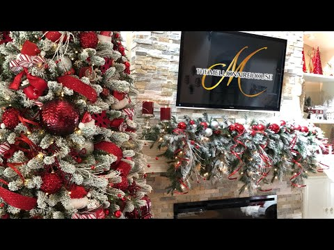 12 Days of Christmas | Day 3 | How To Decorate A Christmas Mantel