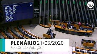 Plenário - Sessão para votação de propostas legislativas - 21/05/2020 00:00