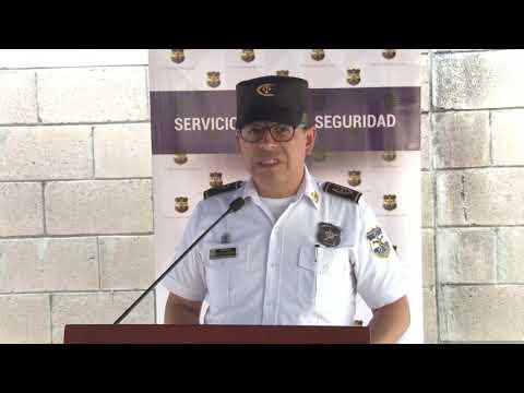 PNC presenta a implicado en estructura criminal de Mejicanos