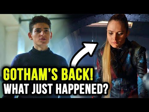 They Just Killed WHO?! What is Ecco Up To? - Gotham 5x01 Review 'Year Zero'