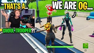 I met a GHOUL TROOPER in Fortnite random duos and THIS happened... (super sweaty)