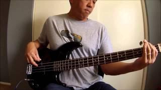 """Joanna"" (Kool & The Gang) Bass Cover"
