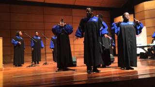 "Howard Gospel Choir - ""Aint Gonna Let Nobody"""