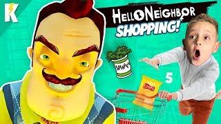 Hello Neighbor Shopping Challenge! Hello Neighbor Act 3 is CRAZY HARD! KIDCITY GAMING