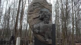 На Богословском кладбище,Виктор Цой 10.04.2015