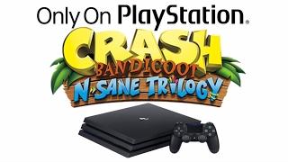 Crash Bandicoot N. Sane Trilogy Only On PS4