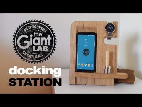 Docking Station in legno // Wooden Docking Station
