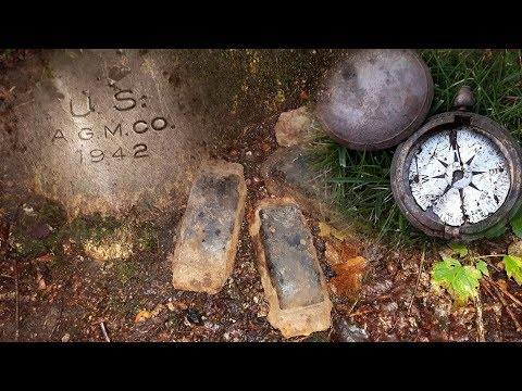 Return to the Ardennes Forest - Panzer & GI relics dug up