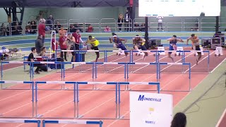 Meeting Elite de Mondeville 2019 : Aurel Manga 3e en 7''68 sur 60 m haies