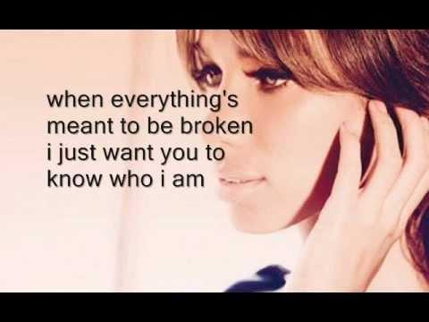 [LYRICS] Leona Lewis - Iris - Hurt Album EP