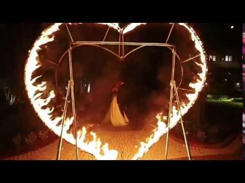 Вогняне шоу на весілля Z-show, відео 3