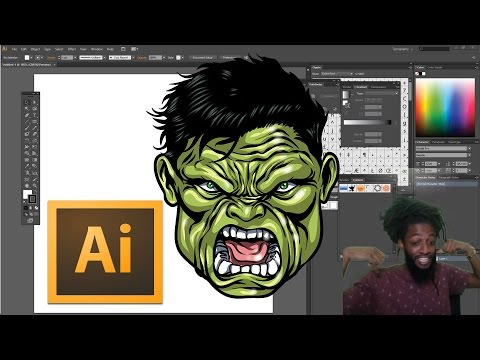 ULTIMATE COLORING TIPS AND TRICKS TUTORIAL !!!FOR ADOBE ILLUSTRATOR CS6 – ART VLOG
