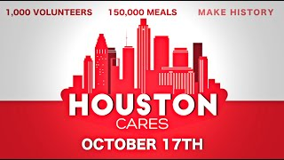 #HoustonCares | Houston Food Bank x The Hive Society