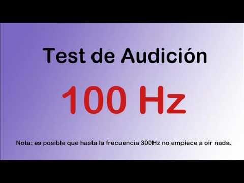 Test De Audición Desde Graves a Agudos