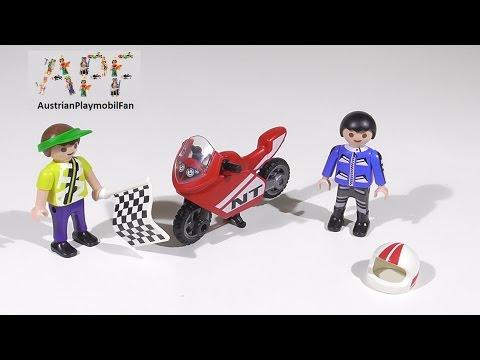 Vidéo PLAYMOBIL Special Plus 4780 : Enfants avec moto de course