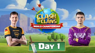 World Championship #3 Qualifier Day 1 - Clash Of Clans