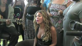Beyonce sings Halo in Hospital