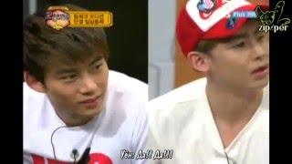 "2PM К-РОР, 2PM SHOW ""Непередаваемые звуки"" (отрывок из 8-го эпизода)"