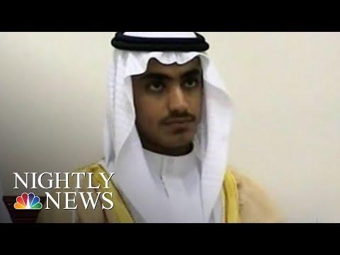White House Confirms Osama Bin Laden's Son Hamza Killed In U.S. Operation   NBC Nightly News