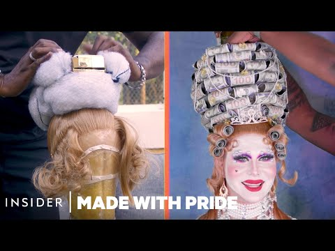 Making $1,000 Wigs for Celebrities
