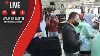 MGTV LIVE : Ops Pematuhan SOP Tempat Kerja di Sungai Petani