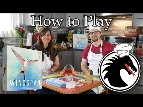 Board Game Bistro (How to play Wingspan!)