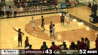 SHS Basketball   @ Bentonville West