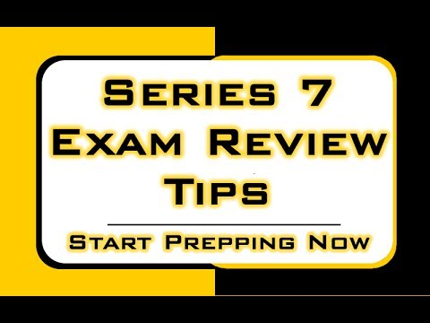 Series 7 Exam Review Tips - Free Fixed and Adjustable Numbers ...
