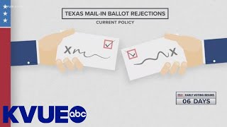 Voting in Texas: Making sure your mail-in ballot is counted   KVUE