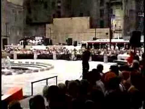 2001 Philly City Hall Xgames street skate competeition
