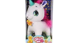 Wish Me Unicorn Wish Upon a Glow Unboxing Toy Review