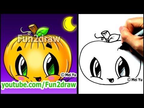 Fun2draw Pumpkin Fun2draw Stars By The Funny Drawers
