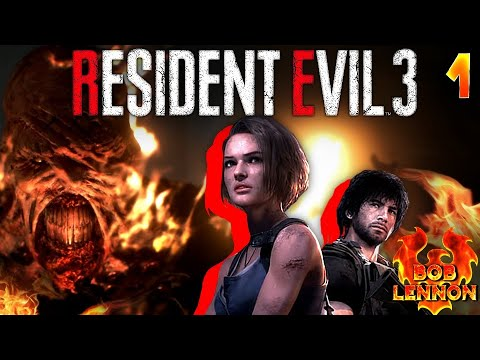 J'AI PAS PAYÉ MON LOYER !!! -Resident Evil 3 : Remake- Ep.1 avec Bob Lennon