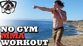 No Gym Boxing/MMA Workout -- Training at Home! by fightTIPS